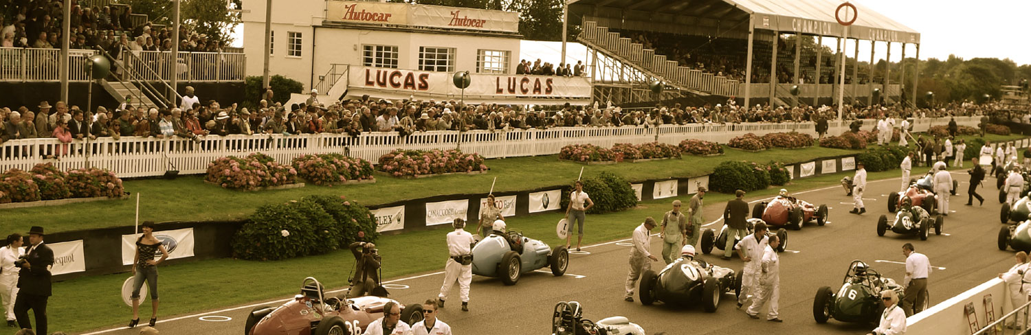 Goodwood Revival in Chichester, UK