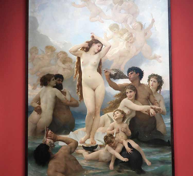 William Bouguereau - Die Geburt der Venus 1879